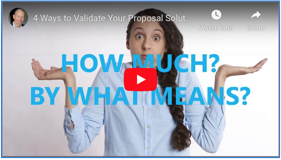 4 Ways To Validate Your Proposal Solution