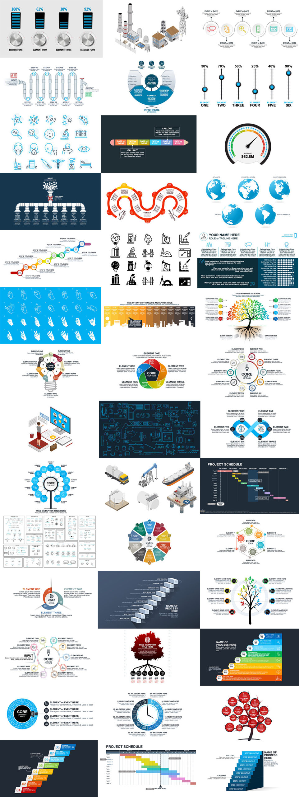 Build-a-Graphic examples