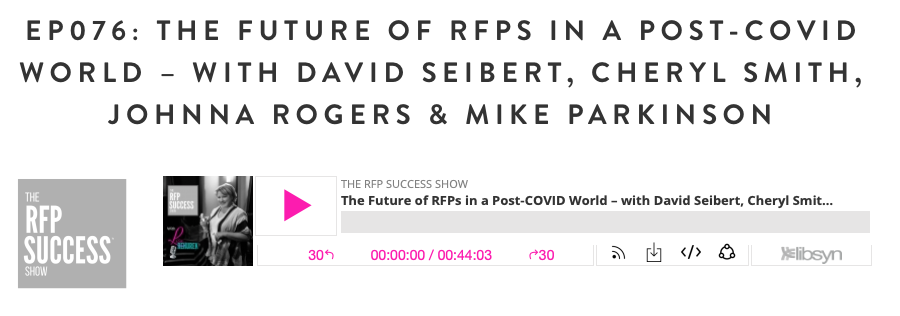 What Does The Future Of RFPs Hold In A Post-Covid World?