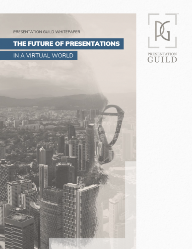 Future Of Presentation Cover Of Cityscape